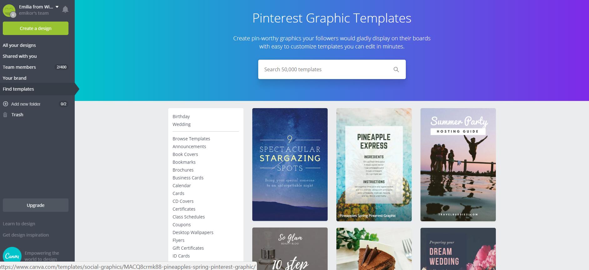 Instagram vs Pinterest for business - Canva