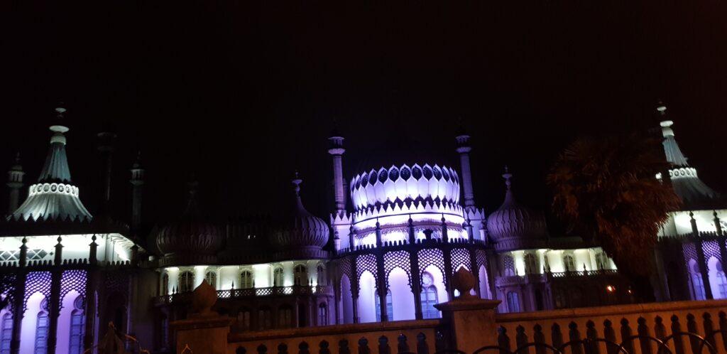 Brighton SEO 2021 by night